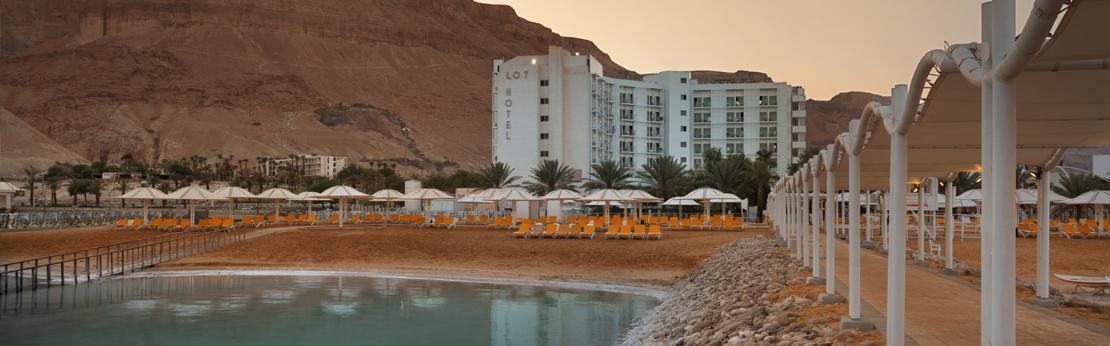 Stranden ved Lot Hotel