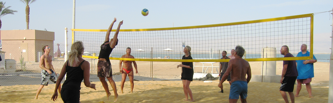 Vollyball ved strand - Helserejser